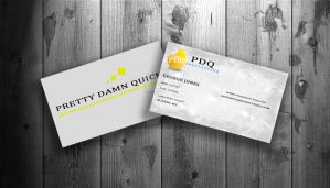 PDQ business cards. by rox52