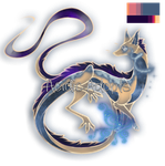 OPEN Frost Spirit Dragon by AcidicAdopts