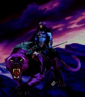 Skeletor and Panthor by planetbryan
