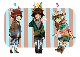 DEER ADOPTABLES (CLOSED) by Muchinery