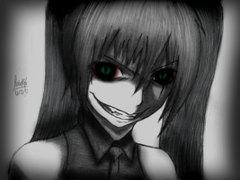 Hatsune Miku- Creepy vampire version by rapperfree