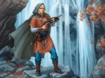Guardian of the waterfall by KateMaxpaint