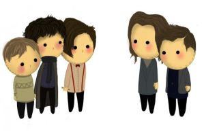 Superwholock dolls. by soniccane