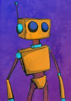 Andri the robot by MrMatsui