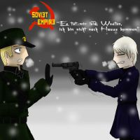 APH- Soviet Empire -5- Cover by annathewerewolf