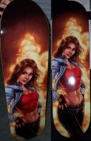 Skateboard Deck 1 by VinRoc
