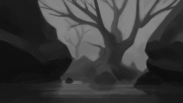 Dead River by chuckles-the-cat