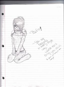 A Shot at realistic drawing. by Missy-x3