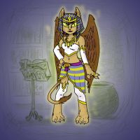 Angela's Magic Lesson - Sphinx Minx by Mr-DNA