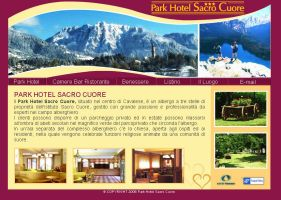 ParkHotel Sacro Cuore web site by michan