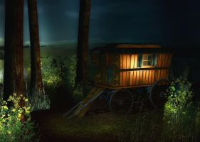 Gypsy Camp Background by Lil-Mz