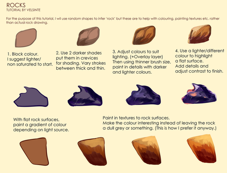 Tutorial - Rocks by Velsinte
