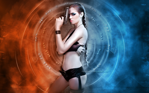 Tomb Raider Wallpaper by TitusBoy25