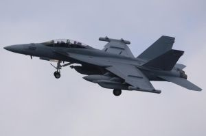 Boeing EA-18G Growler Landing by shelbs2