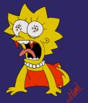 Detournement de Lisa Simpson by Meuge