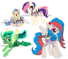 PokePony Adoptables 25 by Sakuyamon