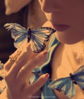 kiss_buterfly by O-Sammer
