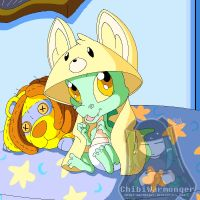 Neopets - Nolen the Baby Krawk by Chibi-Warmonger