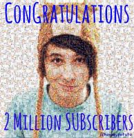 2 Million Subscribers by d4nisnotonfire