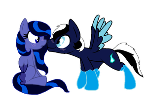 Night X Spencer by crystalmoon101