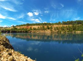 Beautiful old quarry by SP4RTI4TE