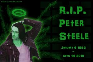 R.I.P. Peter Steele - Type O Negative by SnatchMind
