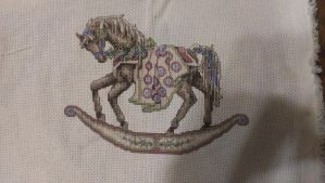 Rocking Horse Cross Stitch 3 by Sippen