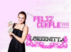 FELIZ CUMPLE LOREENITTA by zulemaripoza