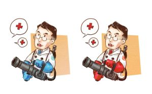 TF2: medic by Pepperina