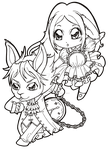 Alice and Julius commission by Chibivi-Linearts