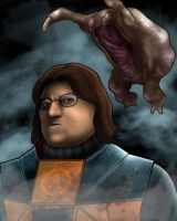 Half Life Gabe by ChristopherDenney