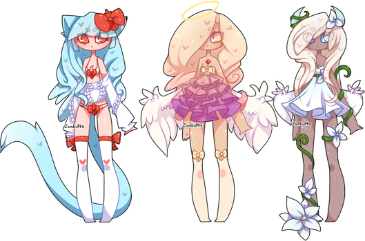 Adoptables Batch 18: CLOSED by Fawniive