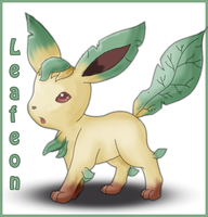 Leafeon by pokelugia
