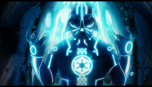 Dark Vader Tron Smudge by alyn2rikla