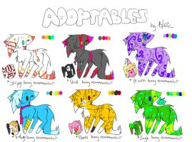 Adoptables 2 -OPEN- by Blazeflight1O1