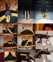 Royal Navy Full dress Hat by GeneralVyse