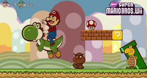 New Super mario bros wii by acetea