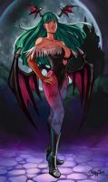 Trinquette Weekly Challenge: Miss Morrigan by Mephmmb