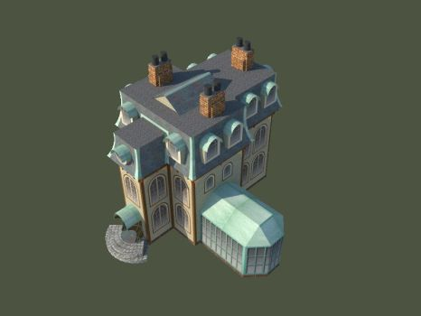 Paper Model Preview Victorian House by SiriusArtWorks