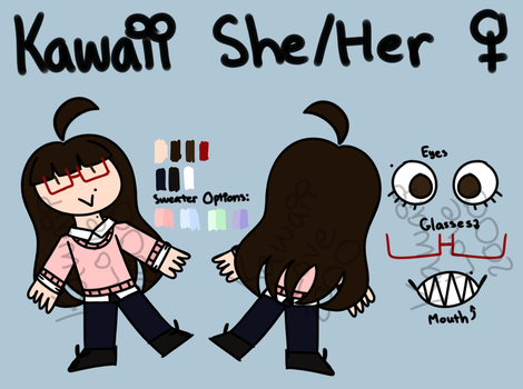 New Updated Persona Ref by KawaiiLove2000