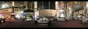 Inside the Air and Space Museum by greenjinjo