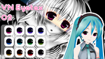 MMD Visual Novel Eye Texture 2 by Xoriu