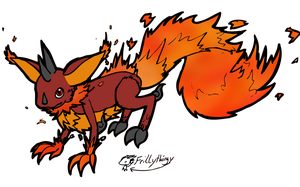 Adoptable: Fire Chupichi by frillythingy