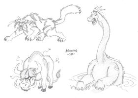 African cryptids by Adamios