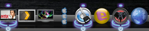 OSX Dock Active indicator by heatshedfogphase