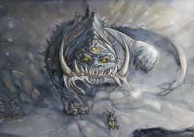 Snow Beast by MarylinFill
