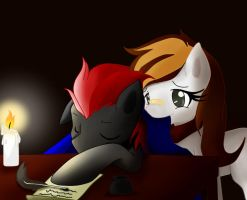 goodnight my talented writer ... by hikariviny