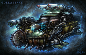 COLLATERAL CAB - Mark II by Mark-MrHiDE-Patten