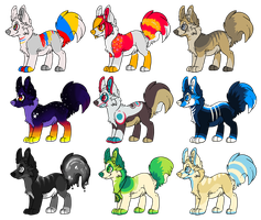 REDUCED PRICE - 160pt Adoptable Designs by Plumbeck