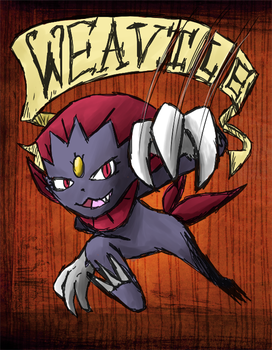 Weavile the Pokemon - Don't Starve by JohnSegway